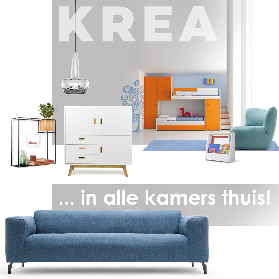 Krea, Sint-Niklaas: modern interieur & betaalbare meubels