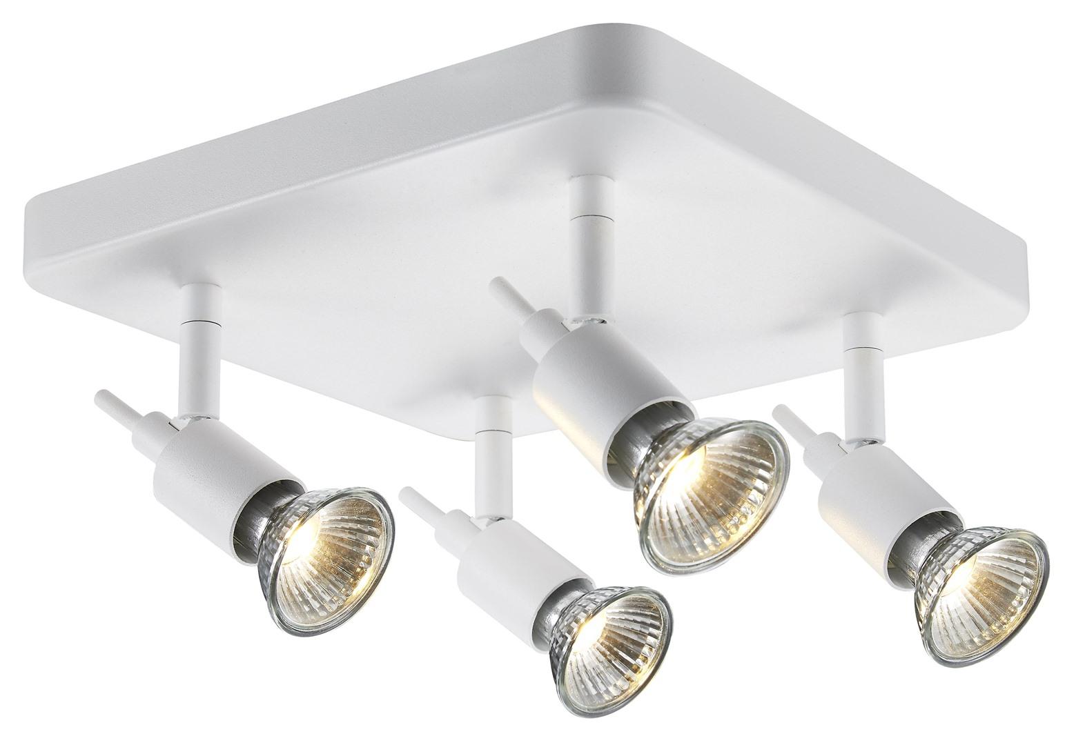 Plafondlamp spot wit led dimbaar krea