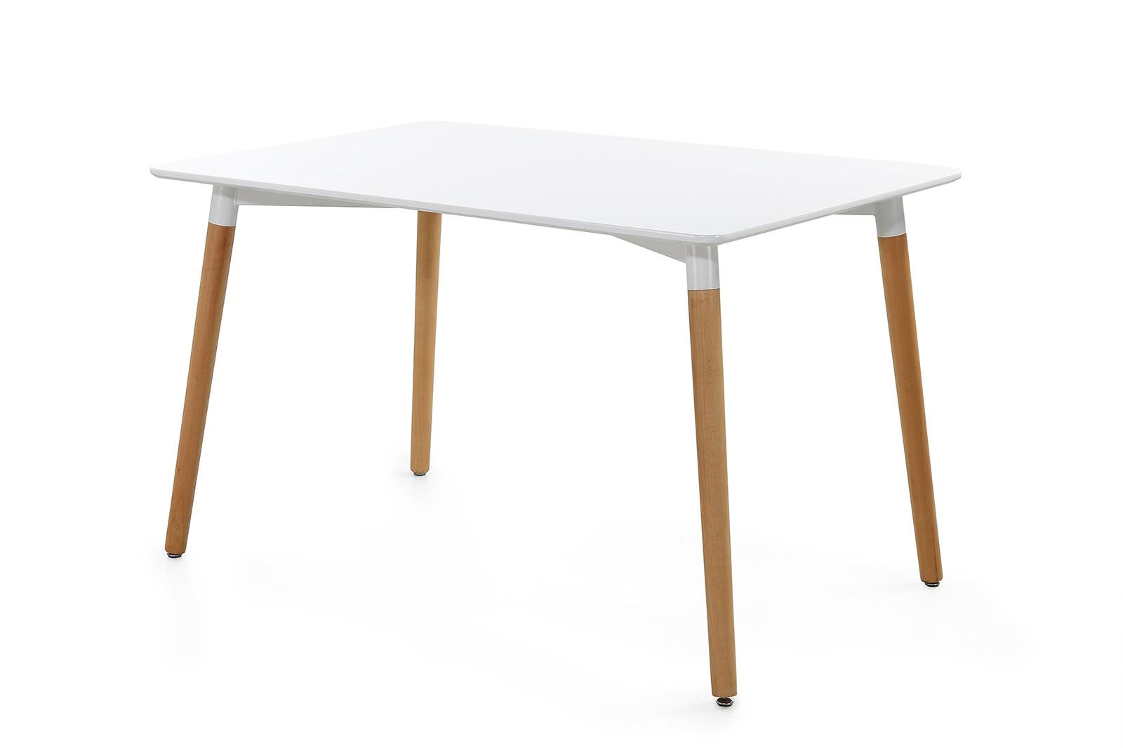 Eettafel wit hout den helder koopplein
