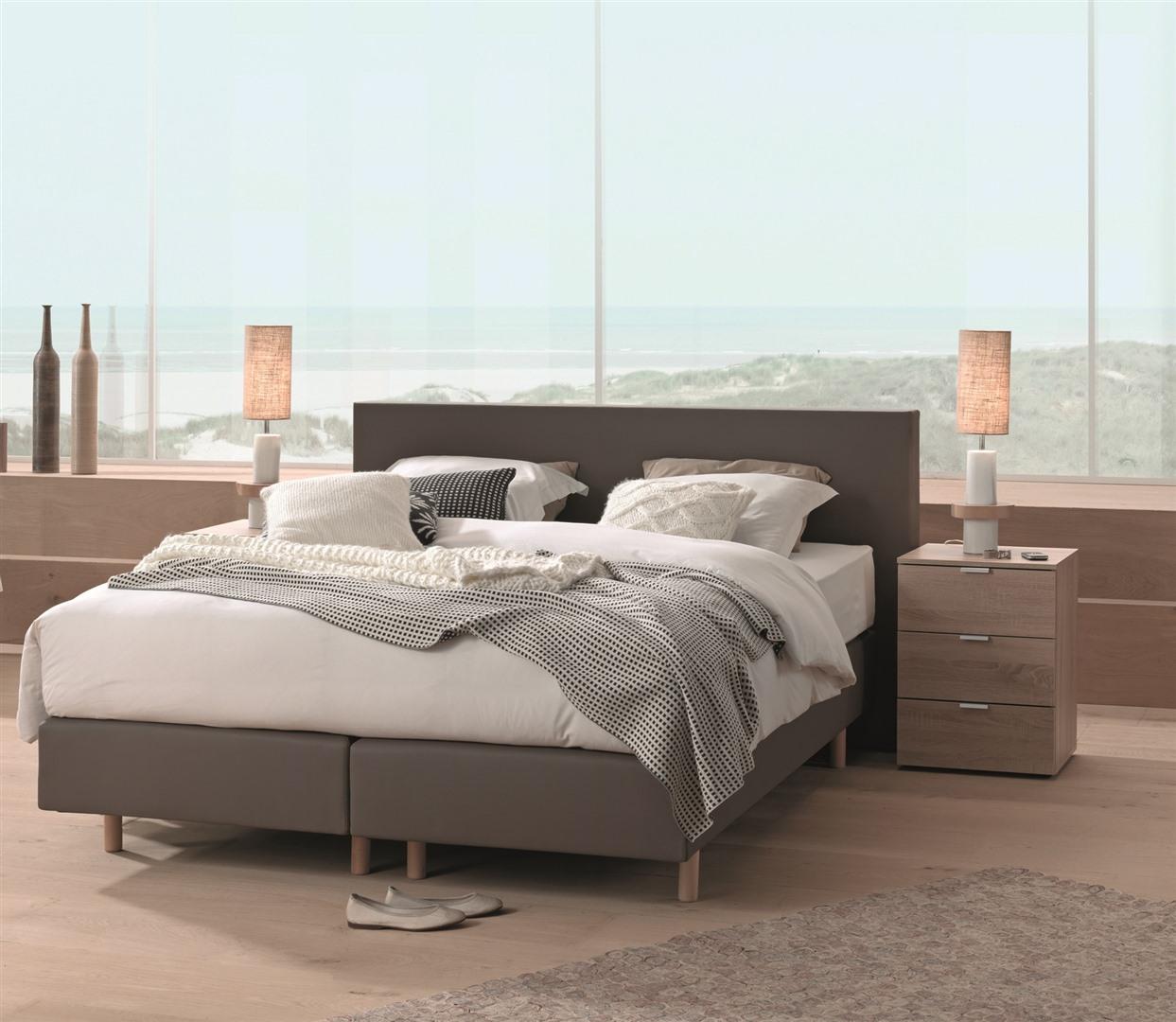 boxspring 160x200 krea. Black Bedroom Furniture Sets. Home Design Ideas