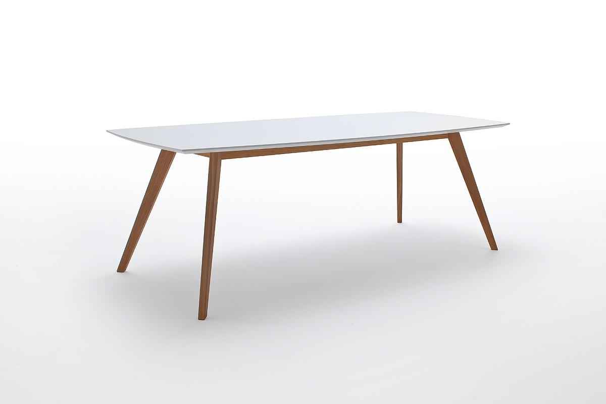 Eettafel Wit Uitschuifbaar.Tafel Wit Uitschuifbaar 160 Naar 205cm Krea