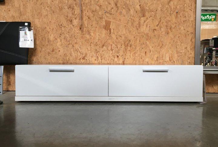toonzaalmodel TV-meubel wit
