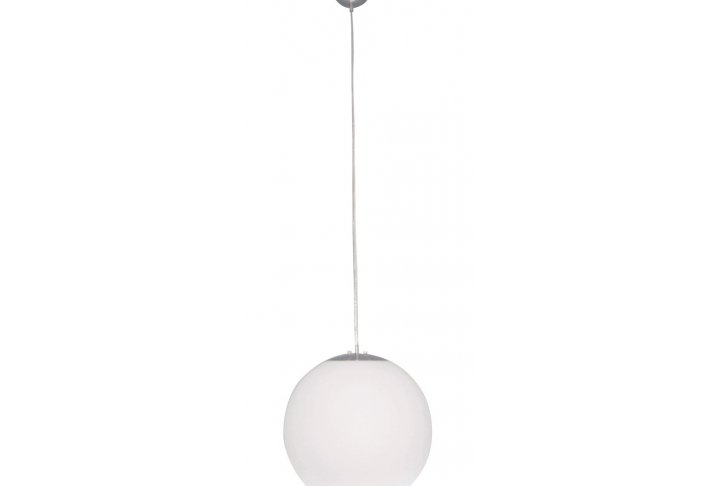 Sphere pendel 40cm wit excl e27 max 60w