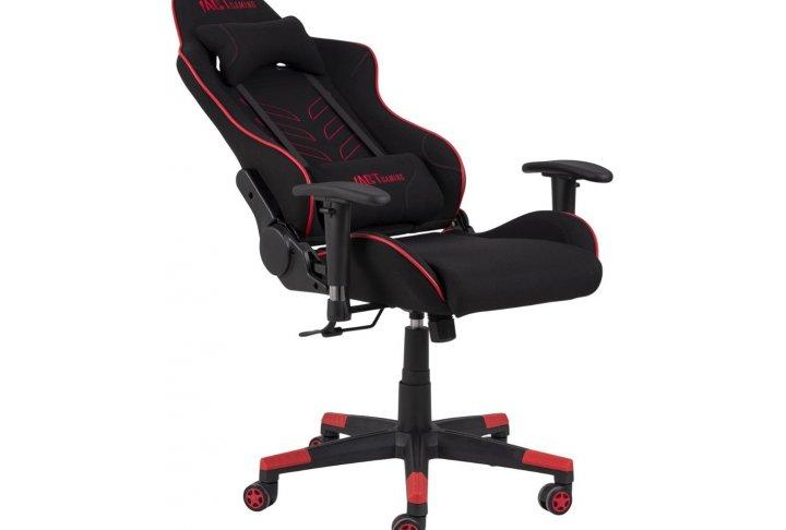Bureaustoel - game chair zwart/rood