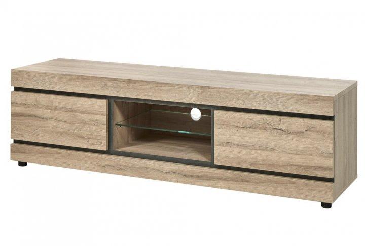 Tv-meubel - 2 laden + open vak
