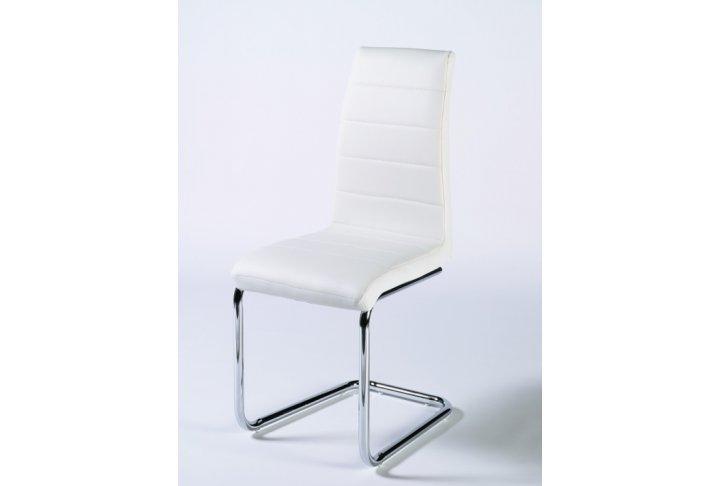 Witte Eetkamer Stoel : Eetkamerstoel virginia witte eetkamerstoelen stoelen