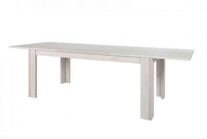 Uittrekbare tafel van 185cm naar 265cm lang krea for Uittrekbare tafel