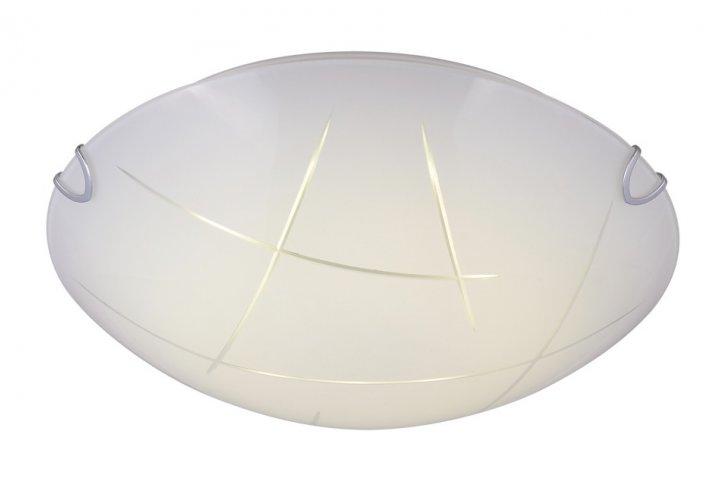 Plafondlamp tana-40cm rond wit (incl. led)