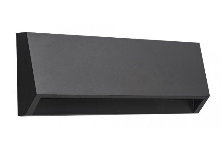 Wandlamp kito-22cm zwart (incl. led)