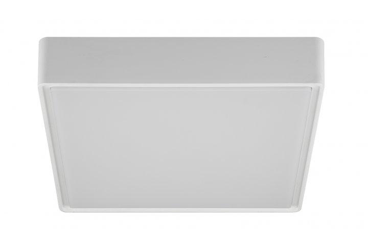 Plafondlamp goa-22cm vierkant wit (incl. led)