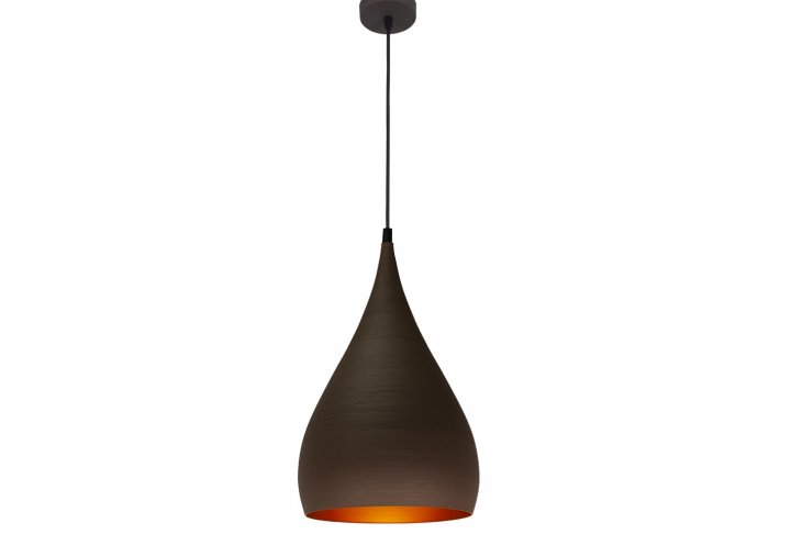Pendel ronin bruin/goud rond 25cm
