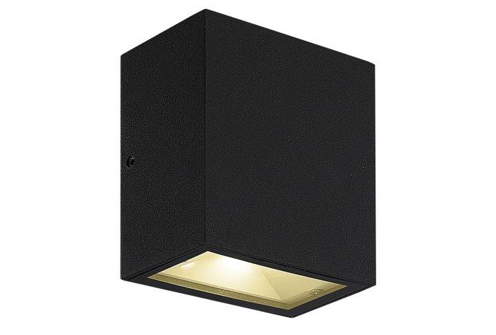 Wandlamp milos zwart (incl. led) 3429030
