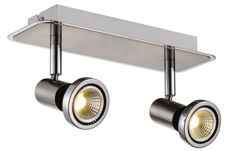 Xzibit plafondlamp  spot 2 satin incl.led gu10 5w
