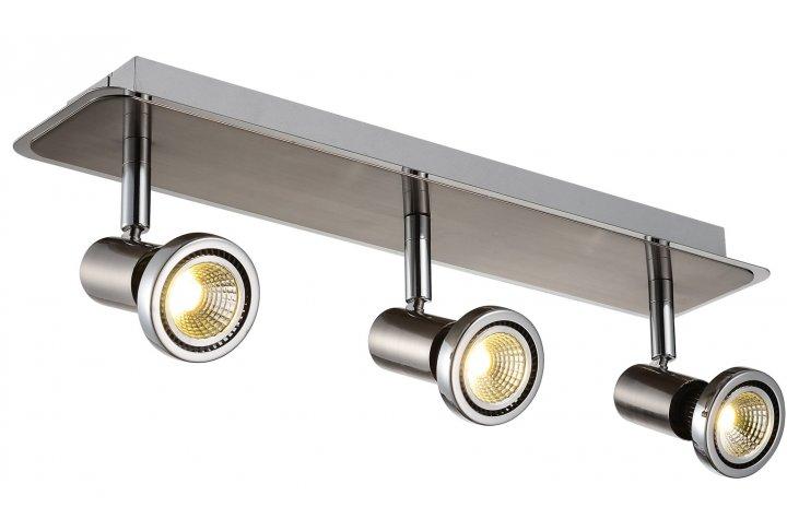 Xzibit plafondlamp spot 3 satin incl.led gu10 5w 3