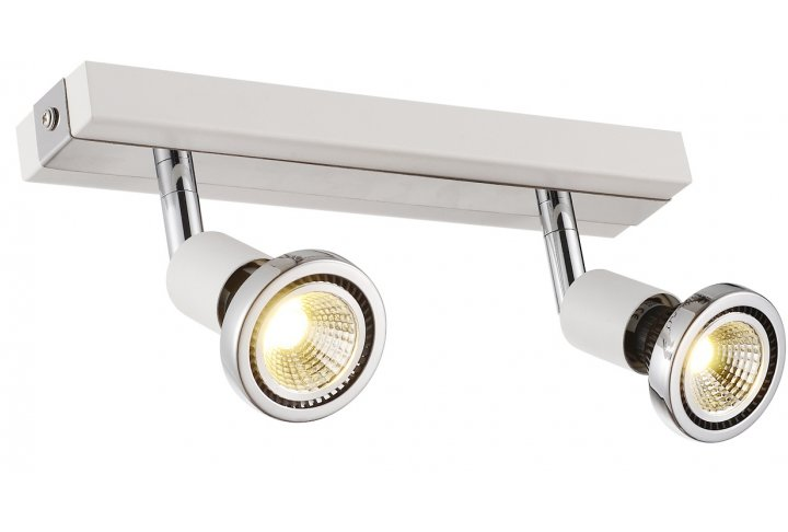 Robus spot 2 wit incl.led gu10 5w