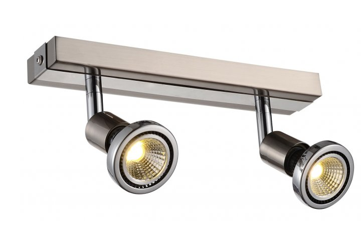 Robus spot 2 satin incl.led gu10 5w