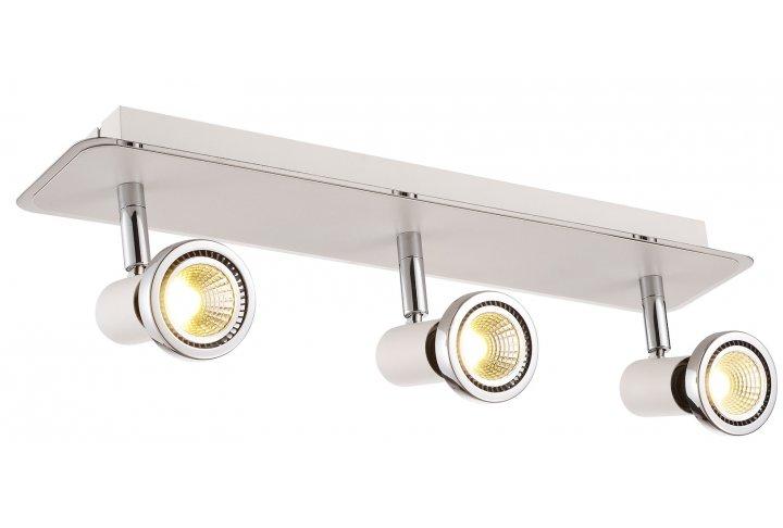Xzibit plafondlamp spot 3  wit incl.led gu10 5w