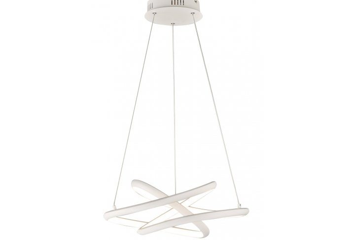 Hanglamp galaxy wit mat 1 lichts, incl. 1 x led 31w