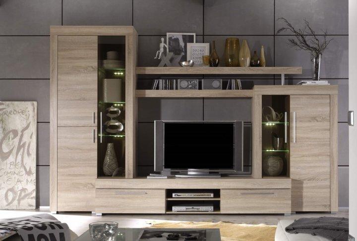 Tv-wand (incl. verlichting)