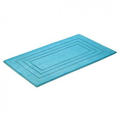 Badmat uni turquoise (67x120)