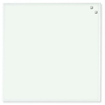 Magneetbord glas wit (45x45cm)