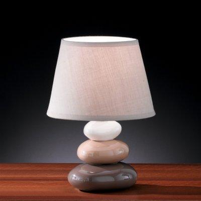 Tafellamp bruin (excl. lamp)