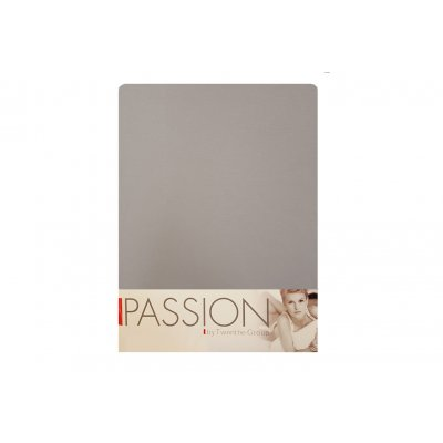Hoeslaken jersey licht grijs (90/100x200/220)