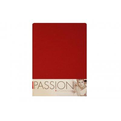 Hoeslaken jersey rood (140>160x200)