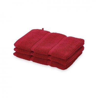 Adagio washand  rood (16x21)
