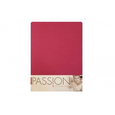 Hoeslaken jersey roze (180>200x200/220)