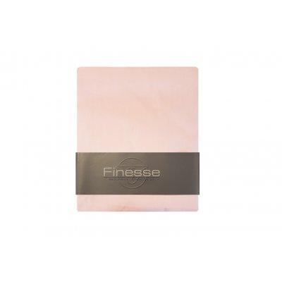 Babyhoeslaken katoen licht roze (60x120)