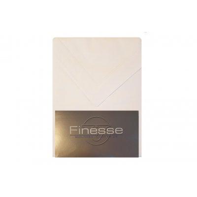 Laken met 1 kussensloop, éénpersoons (180x300) - wit