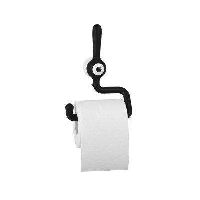 Wc-papier houder toq zwart
