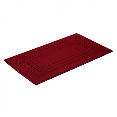 Badmat uni rubin (60x100)