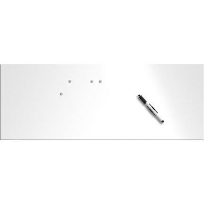 Memobord magnetisch wit (30x80cm)