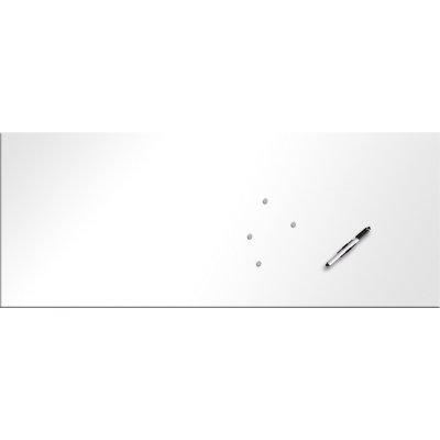 Memobord magnetisch wit (50x125)