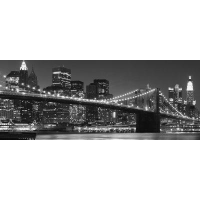 Glaskader new york skyline (50x125)