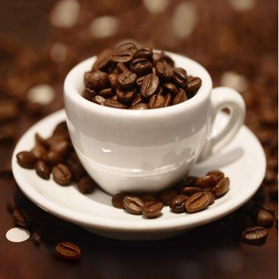 Glaskader koffie (30x30)