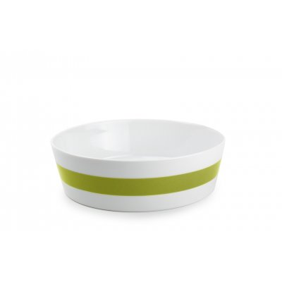 Slakom groen stripes  salt and pepper