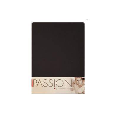 Hoeslaken jersey zwart (140>160x200)