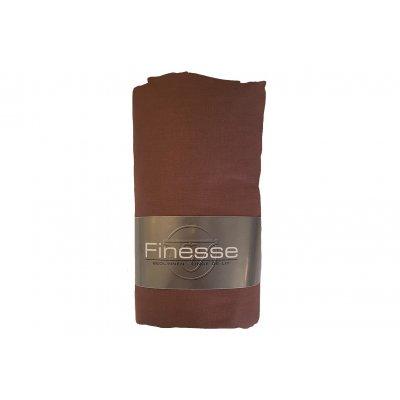 Hoeslaken katoen bruin (90x200)