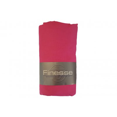 Hoeslaken katoen roze (90x200)