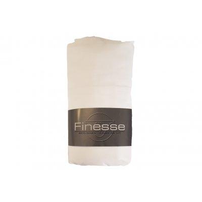Hoeslaken katoen wit (140x200)