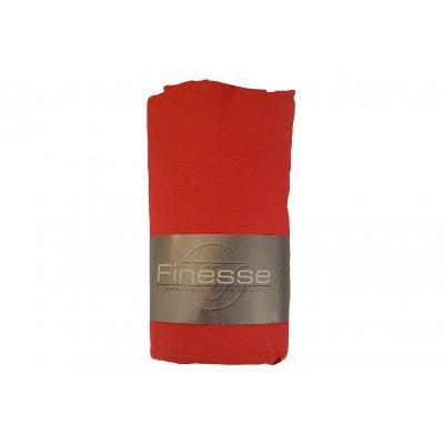 Hoeslaken katoen rood (160x200)