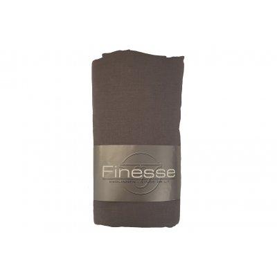 Hoeslaken katoen donker grijs (160x200)