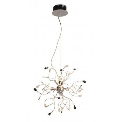 Hanglamp chroom/zwart