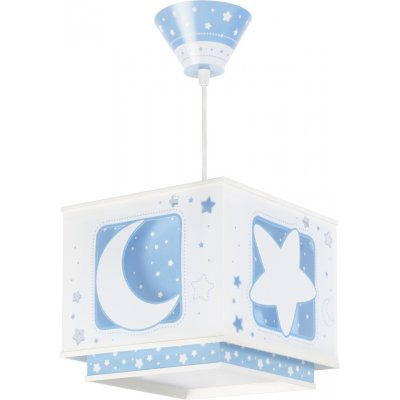 Hanglamp moon blue