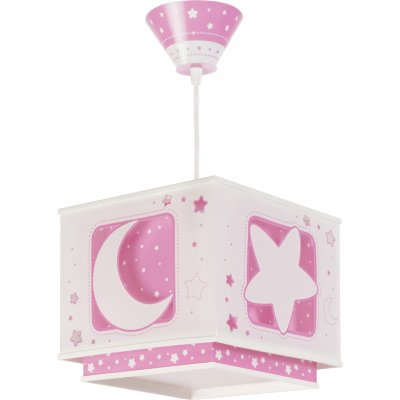 Hanglamp moon pink