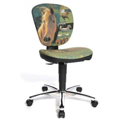 Bureaustoel junior paard