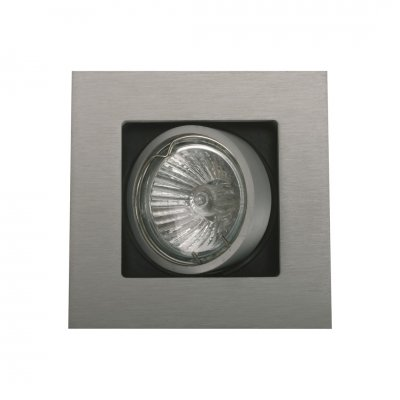 Spot multi square aluminium (incl. led)